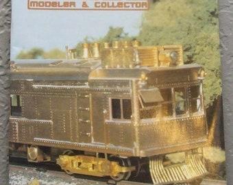 Brass Modeler & Collector April-June 1992 Magazine Catalog N.J. International