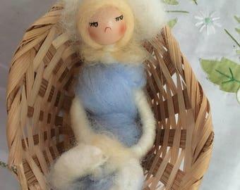 Wool Sleeping Doll