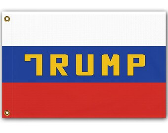 Russian Trump Flag