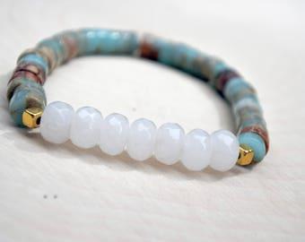 Yoga Bead Bracelet, Handmade Jewelry, Women Gift, Teen Gift, Girls Bracelet, Women Bracelet, Mala Bead, Mala Bracelet, Mala, Yoga MALA Bead
