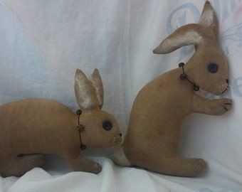 Primitive Bunny pattern in 2 styles sewing pattern  Easy Peasy