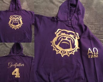 Dawg team year of crossing hoodie, Dawg team hoodie, 1911, Que Psi Phi, Omega Psi Phi Fraternity, HBCU, Roo Since 1911