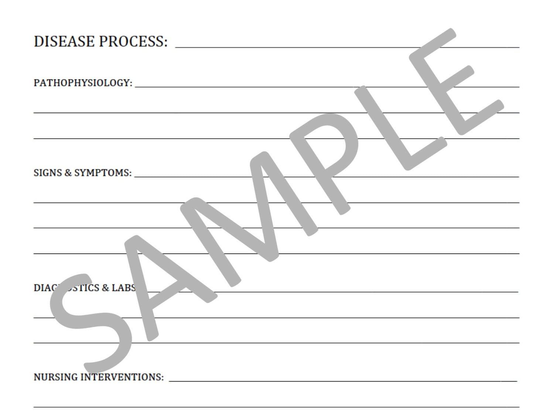 blank nursing notes