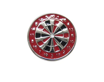 Red Dartboard Magnet
