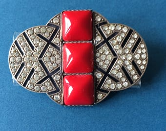 Art Deco Brooch Pin c1920