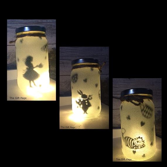 Night Light Mood Lighting Alice In Wonderland Theme Fairy
