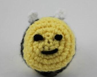 Bumblebee Crochet EOS Holder Keychain