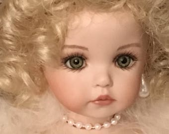 Victorian Porcelain Doll Ornament