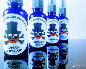 Captain Redbeards Premium Beard Oil
