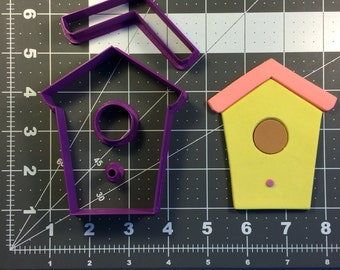 Bird House 102 Cookie Cutter Set