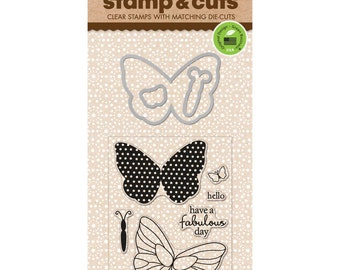 Hero Arts Stamp & Cuts Butterflies