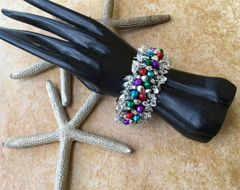 One-of-a-kind Handmade Bracelet for the Holiday Season