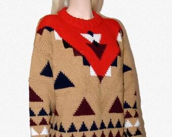 Sweater in ethnic