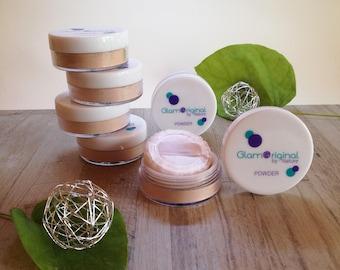 Finishing powder, mineral makeup, mineral veil, mineral foundation, natural makeup, natural veil, matte powder, vegan mineral veil