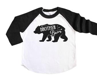 Big Brother Shirt - Brother Bear Shirt - Pregnancy Announcement Shirt - Big Brother Announcement Shirt - Sibling Shirt