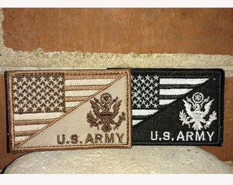 Army / US Flag - Tactical/Morale Patch
