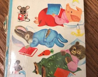 Vintage 1955 Winter Tales 6079 A Golden Star Book Rare by Kathryn Jackson Illustrated by Richard Scarry Hard to Find