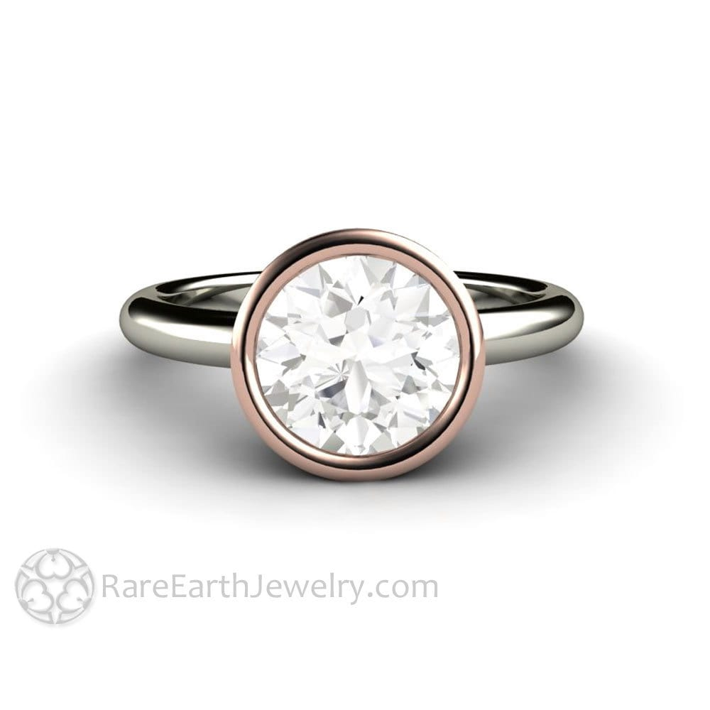 flower engagement with ring platinum rosewood setting lotus products moissanite caribbean