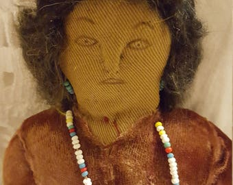 Primitive Rag Doll  Beautifully Unique Native American