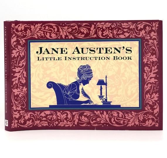Jane Austen's Little Instruction Book by Sofia Bedford-Pierce 1995 1st Edition Hardcover HC w/ Dust Jacket - Peter Pauper Press