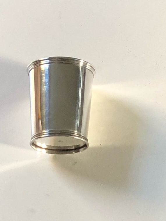 Manchester Kentucky Mint Julep Cup in Sterling Silver (no. 895)