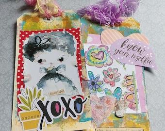 Cute Whimsical Tags / Ephemera