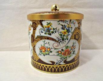 Tea Tin, Candy Tin, English Tea Tin, Decorative Tea or Candy Tin