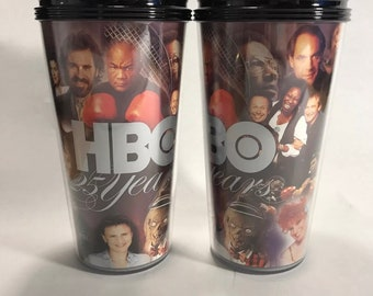 HBO 25th anniversary cup tumbler 1997