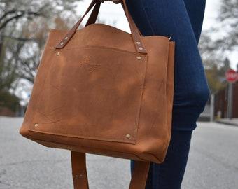 No. 21 Butter Tan Hand/Shoulder Bag