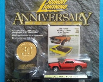 1970 Ford Boss 302 New on card