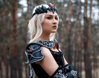 Dark Zelda cosplay costume crown, Dark Zelda princess, legend of zelda costume, replica prop, Princess of Hyrule, Tiara, universe loz,