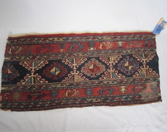 Antique Turkish Rug Fragment