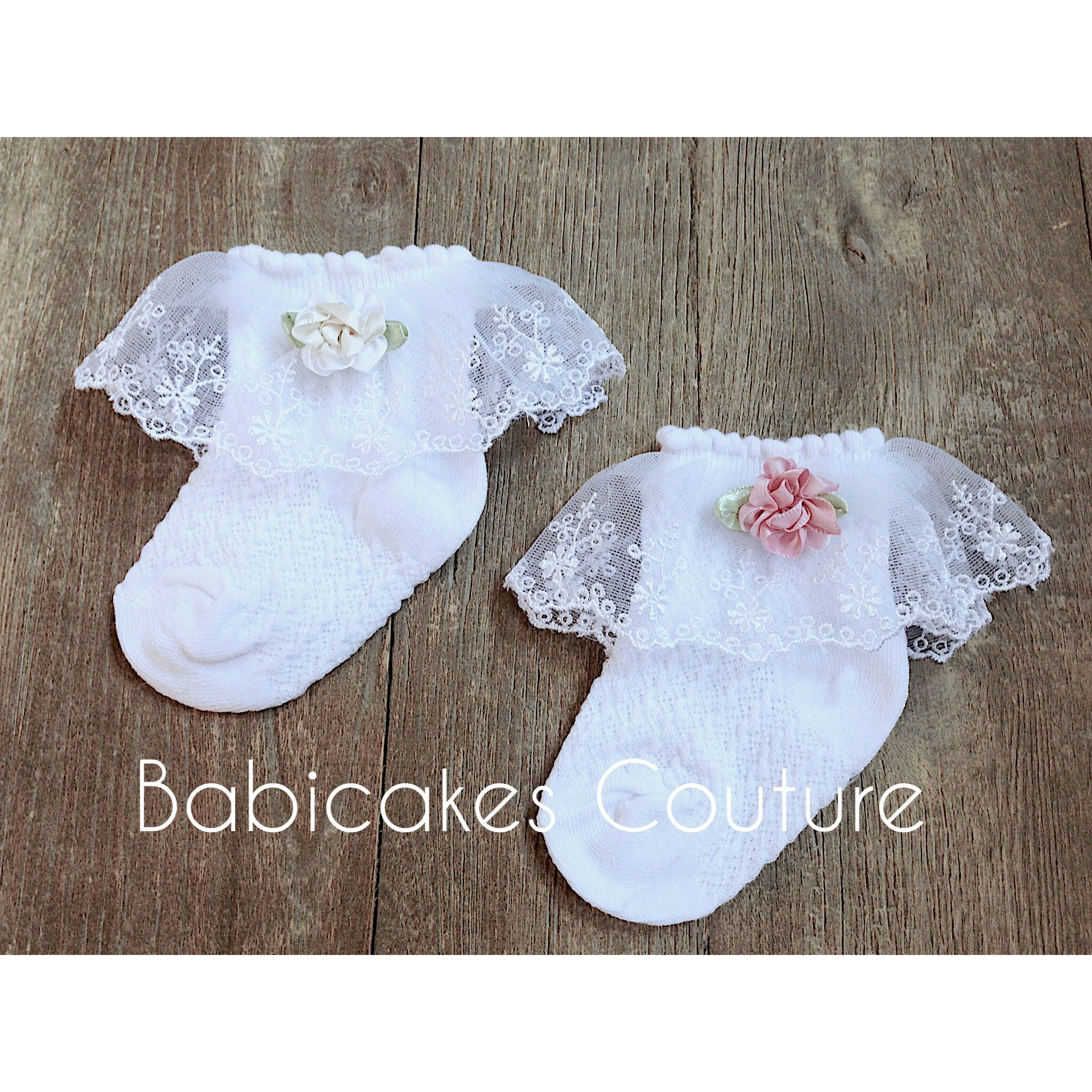 Baby Girl Socks Lace Baby Socks Fancy Lace Socks Baby