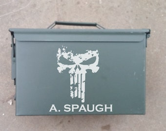 Custom Ammo Can, Groomsman Gift, Wedding Gifts, Man Gift Box, Military