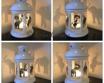 Elephant Candle Lantern