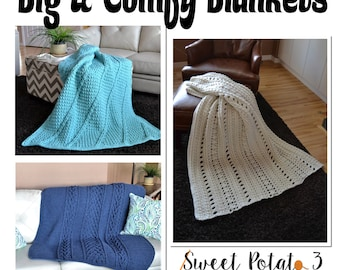 Big & Comfy Crochet Blanket Collection - Pattern