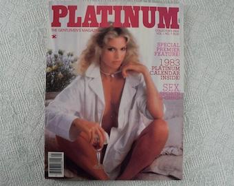 Platinum Magazine from 1982 Vol 1 No 1