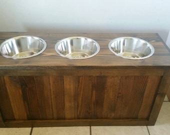 elevated natural custom pin sizes eco color only dog feeders tall dark in pet small safe raised the friendly feeder bowls