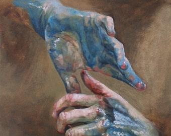C.M. X, Collaborative Oil Painting