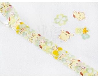 BANDE Sanrio Paper Sticker Series N-1801-484008 - Pom Pom Purin