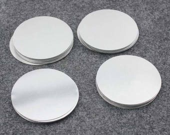 30 inch round mirror 18 inch wholesale 30 off100pcs500pcs 58mm aluminum stamping blanks 228 inch diameter raw brushed finish round circle disc 30 inch round mirror etsy