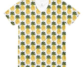 Yellow Pineapple T-shirt