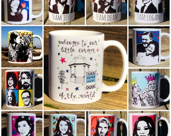 "Gilmore Girls ""4 for 50"" mugs"