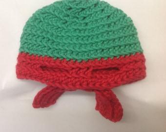 Newborn Hat of Teenage Mutant Ninja Turtle Raphael