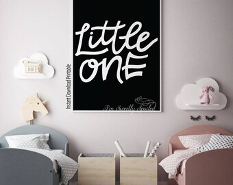 Little One, Nursery Decor, Home Decor, Welcome Little One, Little One Decor, Baby Shower, Baby Shower Decor, Baby Shower Gift, Nursery Art