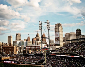 Detroit Photography - The View from Comerica Park