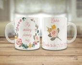 Bride to be mug, wedding ...