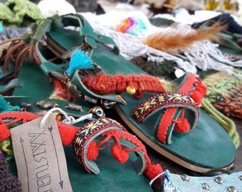 Greek Sandals Decotated