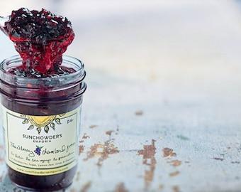 Blackberry Chambord Jam as seen in Southern Living Magazine