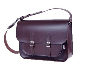 Satchel Leather Satchel Brown Satchel Large Satchel Bag Handbag Messenger Bag